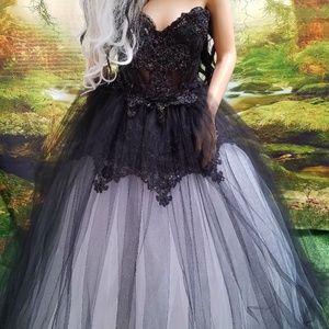 Sebrina Love Sebrina Love Bridals Dresses Willow Blackwhite Lace